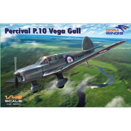 Percival P.10 Vega Gull (military service) 1/48