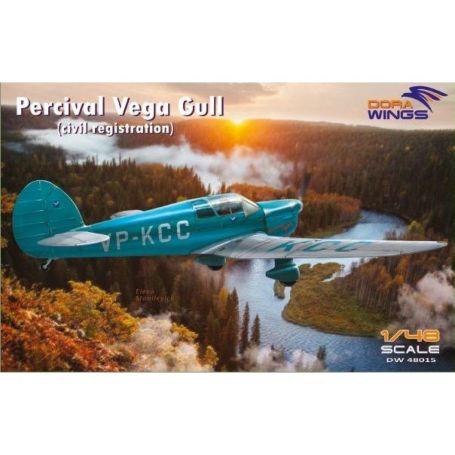Percival Vega Gull (civil registration) 1/48