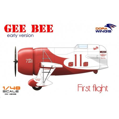 Gee Bee Super Sportster R-1 (early version) 1/48