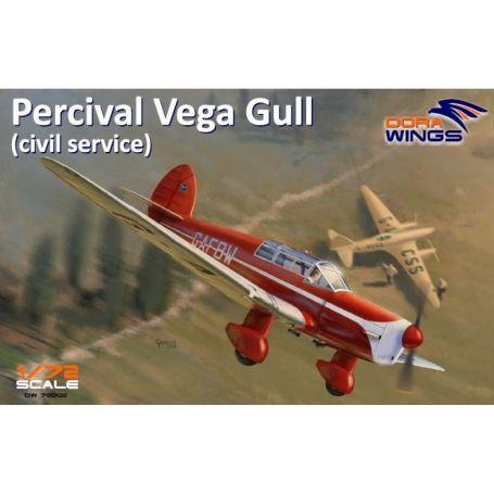 Percival Vega Gull (civil registration) 1/72