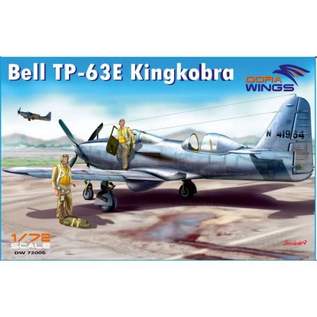 Bell TP-63E Kingcobra (Two seat) 1/72