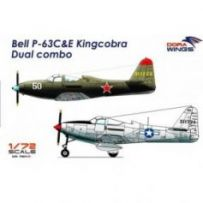 Bell P-63C&E Kingcobra Dual combo (2 in 1) 1/72