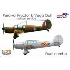 Percival Proctor& Vega Gull (2 in 1) 1/72