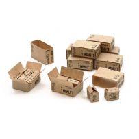 Cartons rations US 2ème G.M. 1/35