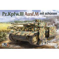 Pz.Kpfw.III Ausf.M mit Schurzen 1/35