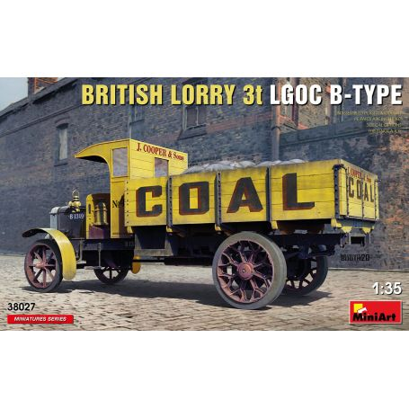 british Lorry LGOC 3t B-Type 1/35