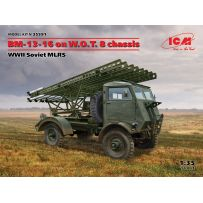 BM-13-16 on W.O.T. 8 chassis 1/35