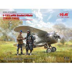 I-153 with Soviet Pilots 1939-1942 1/32