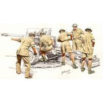 17/25 pdr Anti-Tank Gun Crew Set 1/35