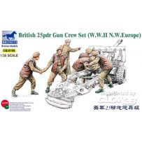 25pdr Gun Crew Set 1/35