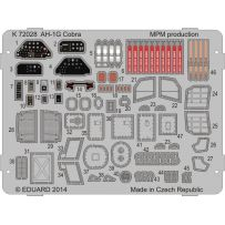 AH-1G Cobra colour photo-etched parts 1/72