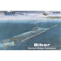 Special Navy 100-SN72006 - Biber (German Midget Submarine) 1/72