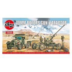 Bofors 40mm Gun & Tractor 1/76