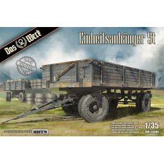 Einheitsanhänger 5t German Uniform 5t Trailer WW2 1/35