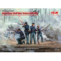 American Civil War Union Infantry 1/35