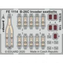 B-26C Invader seatbelts STEEL 1/48