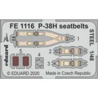P-38H seatbelts STEEL 1/48