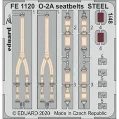 O-2A seatbelts STEEL 1/48