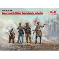American Civil War Confederate Infantry 1/35