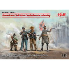 American Civil War Confederate Infantry 1/35