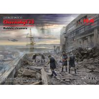 Chernobyl 3. Rubble cleaners (5 figures) 1/35