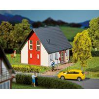 Maison individuelle, rouge HO