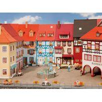 2 Maisons de petite ville avec saillie HO