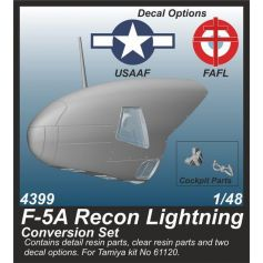 F-5A Recon Lightning Conversion Set 1/48