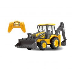 New Ray 87913 - 1:18 Scale R / C Volvo Backhoe Loader