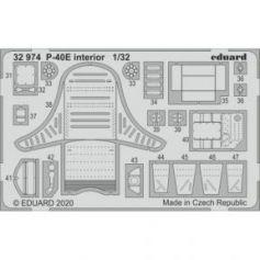 P-40e Interior 1/32