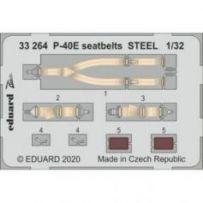 P-40e Seatbelts Steel 1/32