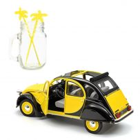 Citroën 2CV Charleston 1982 - Helios Yellow & Black 1/18