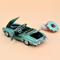 Mercedes-Benz 190 SL 1957 - Light green metallic 1/18