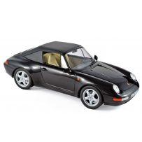 Porsche 911 Cabriolet 1994 - Black 1/18