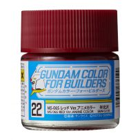 Gundam Color For Builders MS-06S RED Version