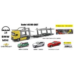 Man F2000 Twin Auto Carrier 1/32