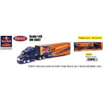 Red Bull KTM Factory Team Truck 2017 (Peterbilt 387) 1/43