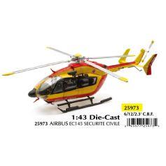 Helicoptere Airbus EC145 Securite Civile 1/43