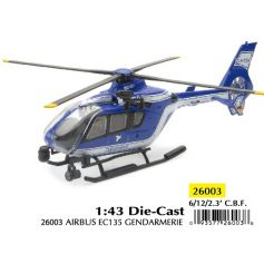 Helicoptere Airbus EC135 Gendarmerie 1/43