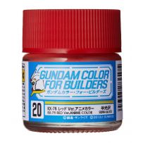 Gundam Color For Builders RX-78 RED Version
