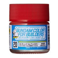 UG-20 Gundam Color For Builders RX-78 RED Version