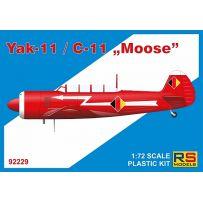 Yak-11 / C-11 Moose 1/72