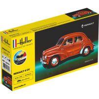Heller 56174 - STARTER KIT Renault 4 CV 1/43