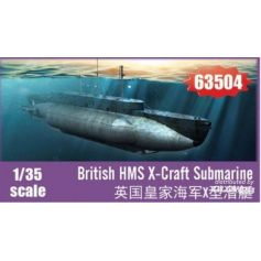British HMS X-Craft Submarine 1/48