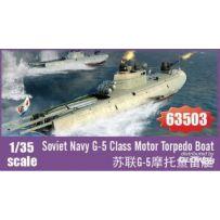 Soviet Navy G-5 Class Motor Torpedo Boat 1/35