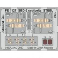 SBD-2 seatbelts STEEL 1/48