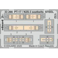 PT-17 / N2S-3 seatbelts STEEL 1/32
