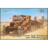 Scammell Pioneer Tank Transporter with TRUCU30 Trailer 1/35