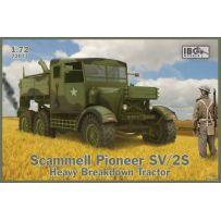 Scammell Pioneer SV/2S Heavy Breakdown Tractor 1/72