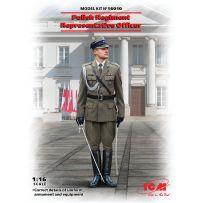 Officier représentant du régiment polonais 1/16